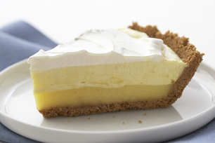Triple-Layer Lemon Pie