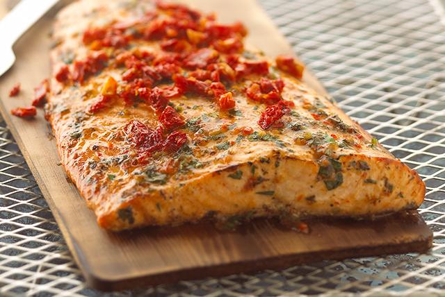 Grilled Cedar-Planked Salmon - Kraft Recipes