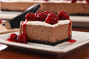PHILADELPHIA Black Forest Cheesecake