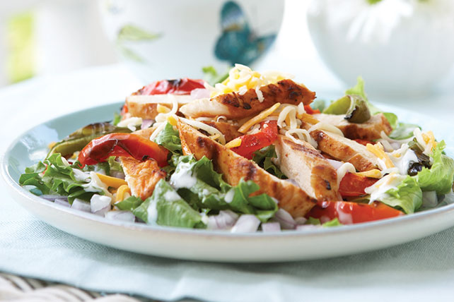 Chicken Fajita Salad Image 1