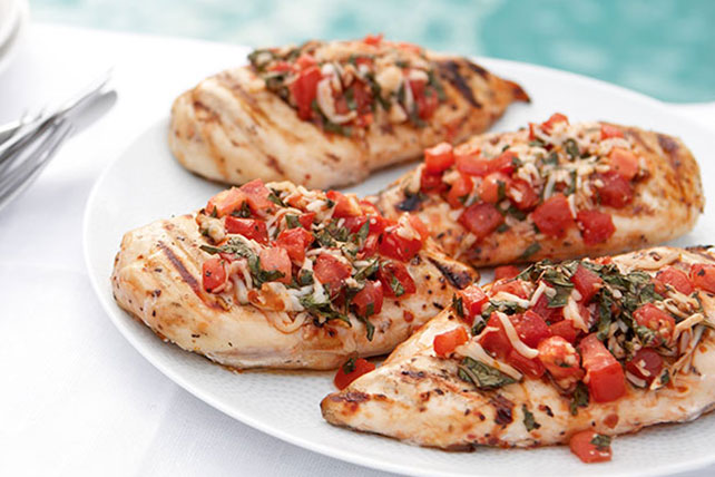 Grilled Bruschetta Chicken - Kraft Recipes