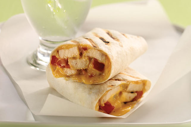 Grilled BBQ Chicken Wraps Image 1
