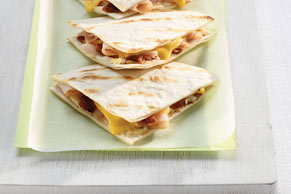Grilled Turkey Club Quesadillas