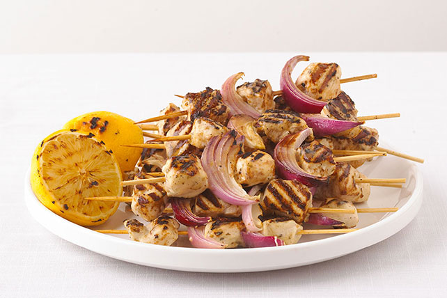 Grilled Greek Chicken Kabobs Image 1