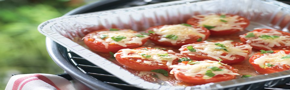 Cheese-Topped Grilled Tomatoes Image 1