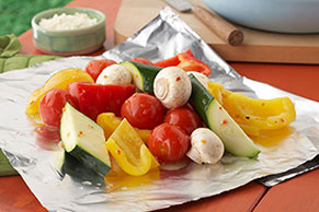 Sensational Foil-Pack Vegetables