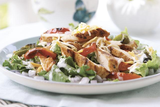 Salade au poulet «fajita» Image 1