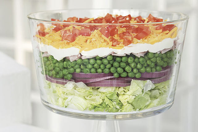 Classic Layered Salad Recipe - Kraft Canada