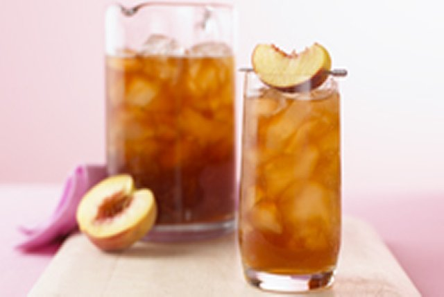Sparkling Peach Tea Image 1