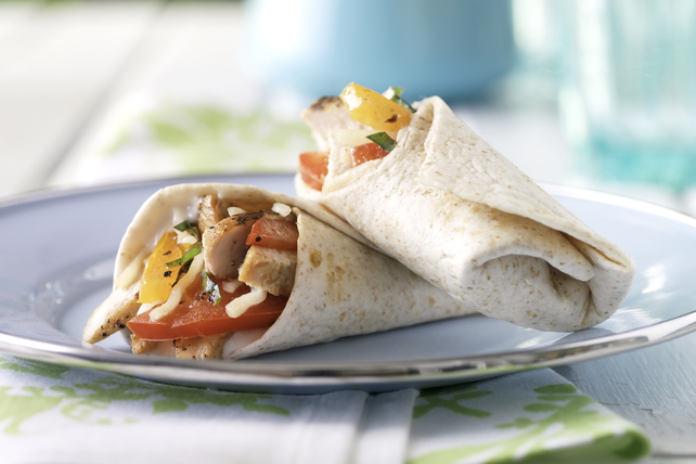 Balsamic Mozzarella Chicken Wrap Image 1