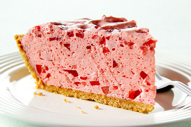 Strawberry Chiffon Pie Image 1