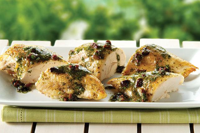 Cedar-Planked Mediterranean Chicken Image 1