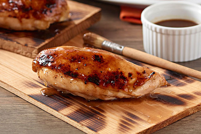 Honey-Spiced Cedar Plank Chicken