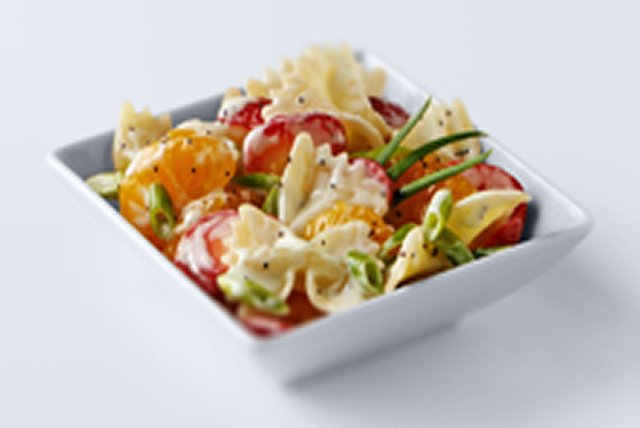 Strawberry-Orange Pasta Salad Image 1