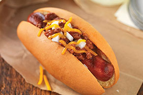 Easy Chili-Cheese Dog