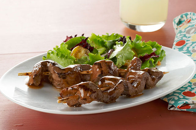 Caramelized-Beef Skewers Image 1