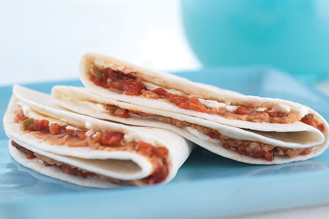 Filled Tortilla Recipe Image 1