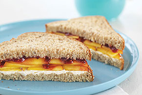 """""""Peachy-Keen"""" Sandwiches"""