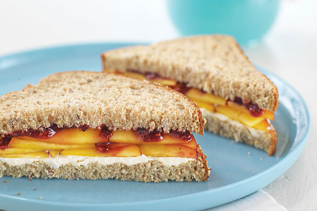 """Peachy-Keen"" Sandwiches Image 1"
