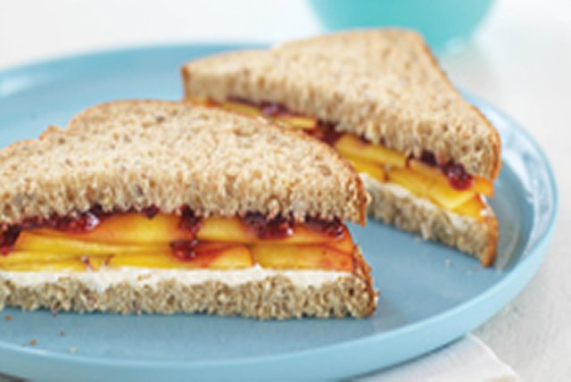 Peachy Keen Sandwiches Image 1