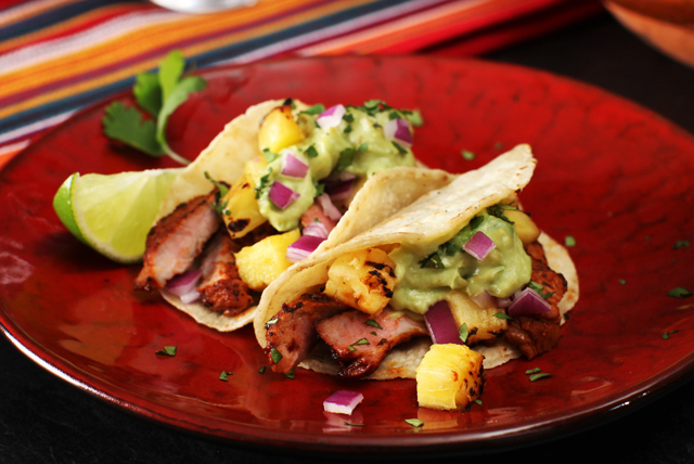 Grilled al Pastor-Style Tacos Image 1