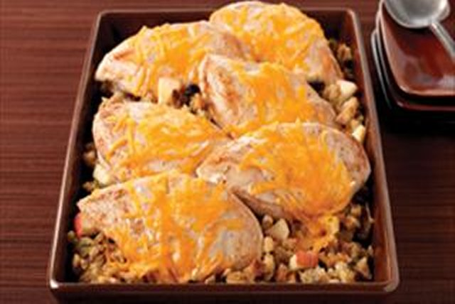 Apple-Walnut Chicken Bake Image 1