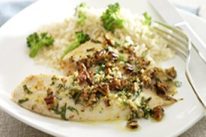 Pecan-Parmesan Fish Fillets