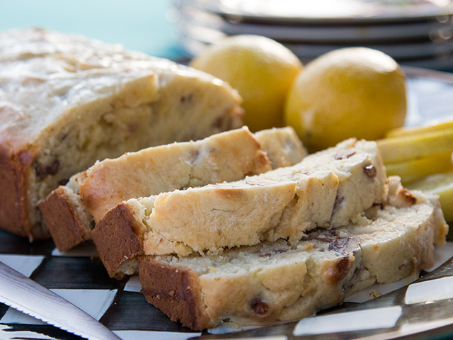 Glazed Lemon Bread Image 1