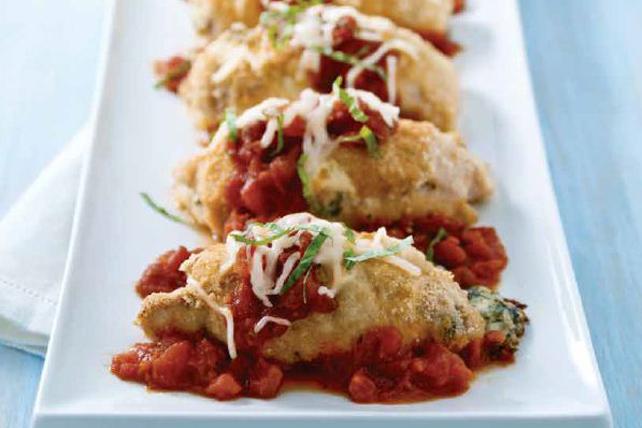 Roulades de poulet au parmesan Image 1