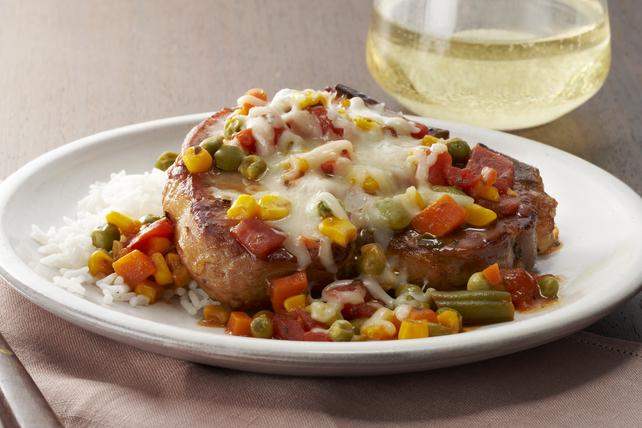 Saucy Italian-Style Pork Chops Image 1