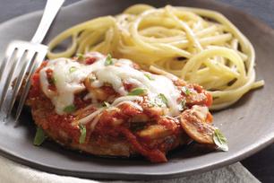 Pork Chops Parmigiana