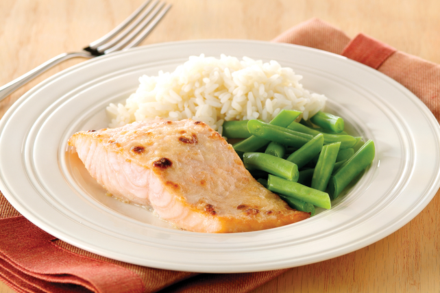 Lemon-Parmesan Broiled Salmon Image 1