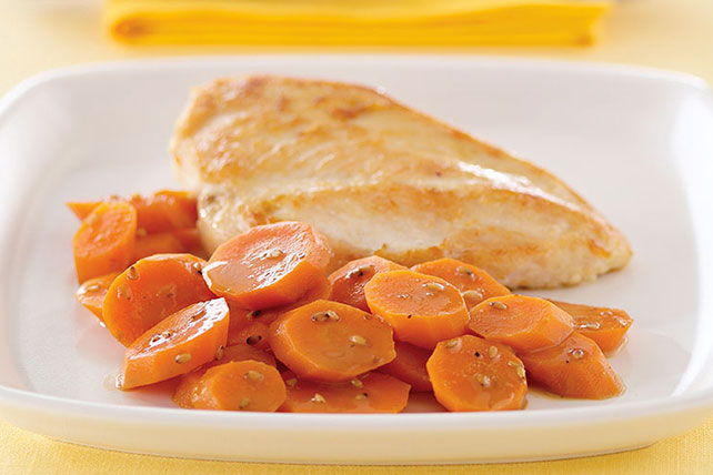 Asian-Glazed Carrots Image 1