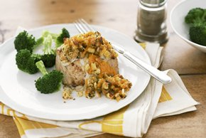 Pork Chop Stuffing Bake