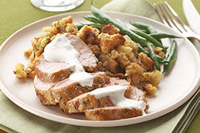 Roasted Pork Tenderloin Supper