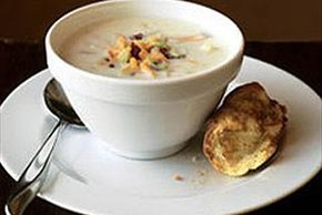 Bacon, Cheese & Potato Chowder
