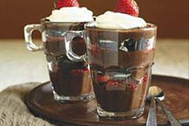 Chocolate, Strawberry & Cookie Parfaits Image 1