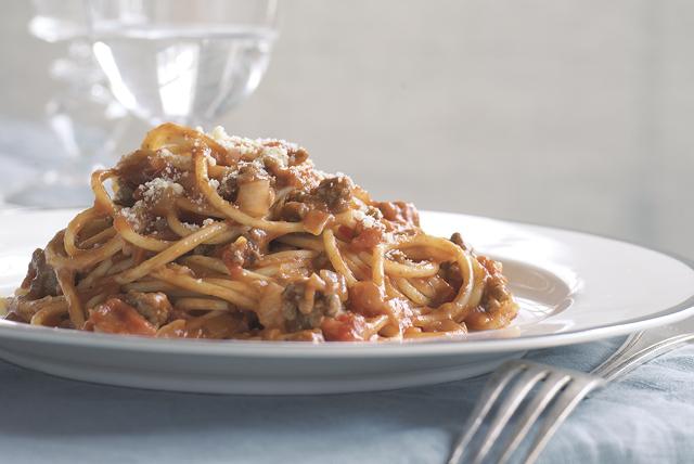 Facilísimos espaguetis a la boloñesa Image 1