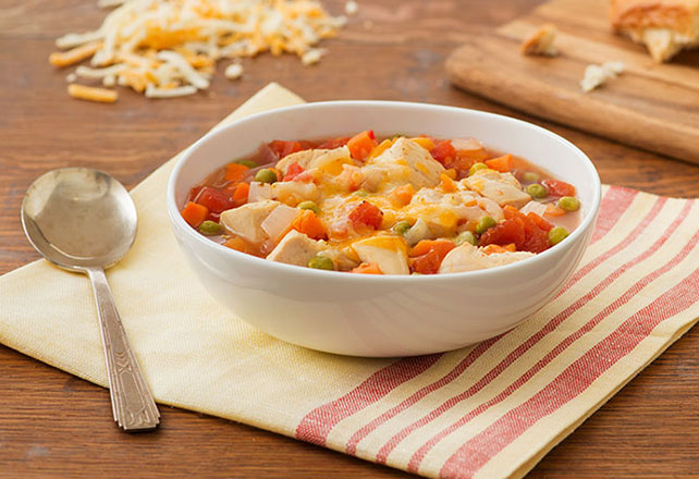 Fiesta Chicken Soup Recipe Image 1