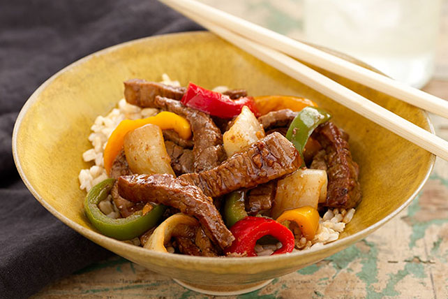 Asian Beef Stir-Fry Recipe Image 1