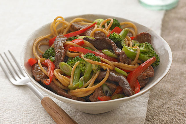 Beef & Vegetable Noodle Bowl Image 1