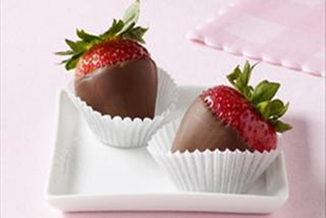 Chocolate Berry Treats for Two Image 1