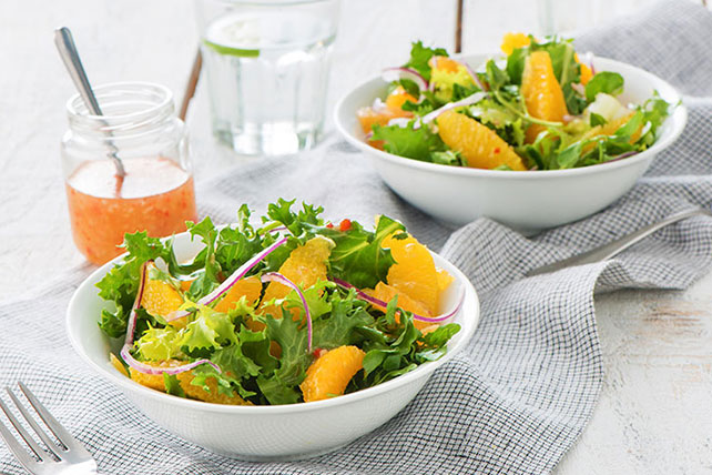 Citrus Salad with In-Season Greens Image 1