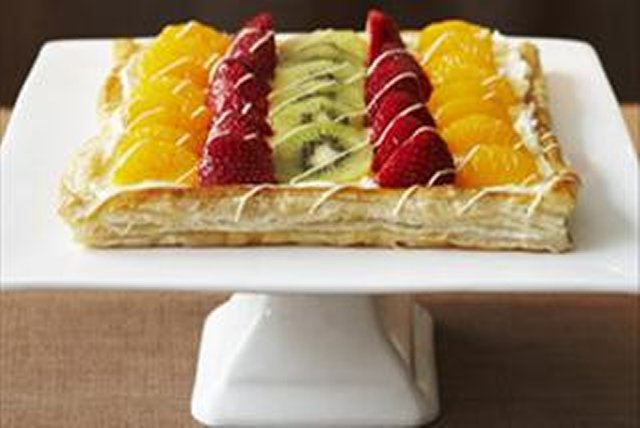 Tarte aux fruits joliment facile Image 1