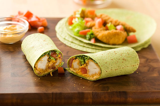 Buffalo Chicken Wraps Image 1