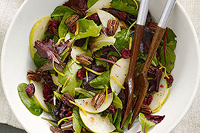 Mixed Greens & Pear Salad