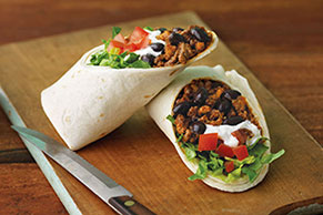 Cheesy Beef Burritos