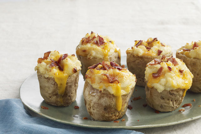 Roasted Garlic Twice-Baked Potatoes Image 1