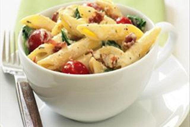 Bacon, Lettuce & Tomato Pasta Recipe - Kraft Recipes