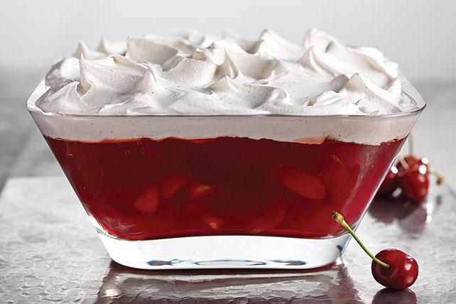 JELL-O Cherry-Pomegranate Dessert Image 1